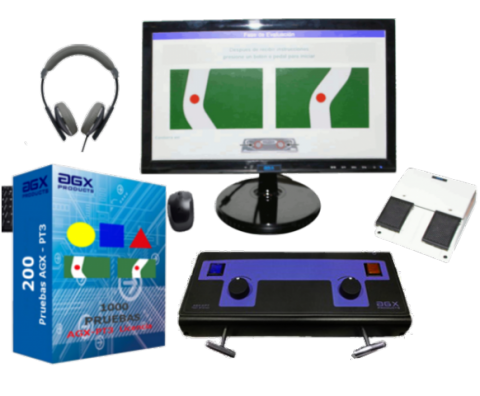 Nuevo equipo psicomotríz-psicosensométrico AGX Products